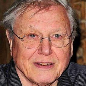 height of David Attenborough
