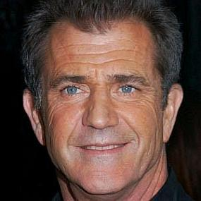 height of Mel Gibson