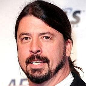 height of Dave Grohl
